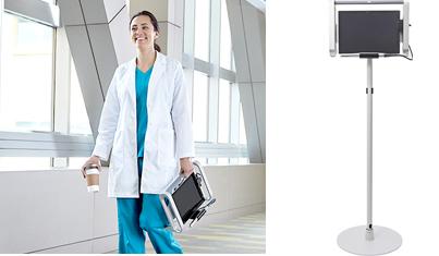 タブレット型PCを採用した小型のデバイス