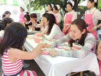 上野動物園で歯の健康相談