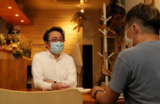 感染症対策、飲食店に伝授 宮崎市の歯科医・土田さん