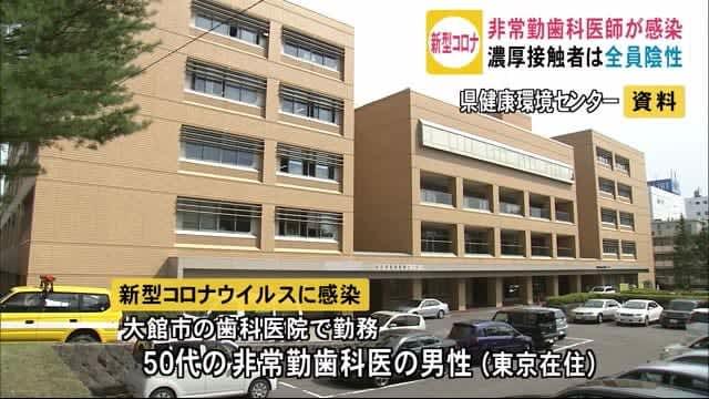 大館市の歯科医院勤務の男性 患者を診療したあと新型コロナに感染発覚 秋田