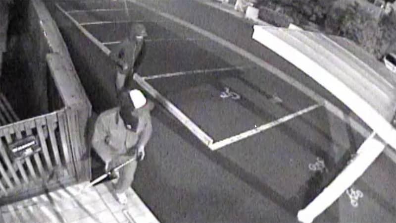 【独自】窃盗団…狙われた歯科医院 扉をたたき割るように…