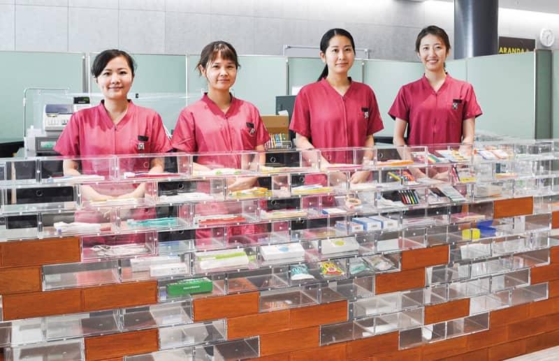 「歯ブラシ選び」を専門家がアドバイス 神奈川歯科大学附属病院内に専門ショップ開設 横須賀市