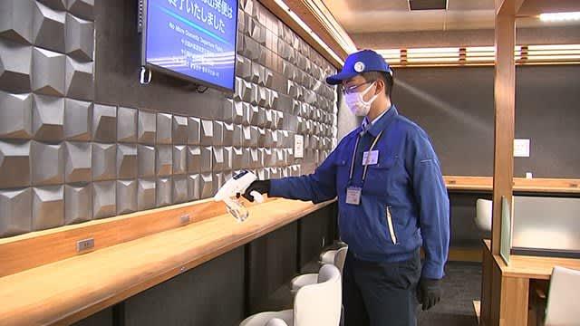 歯科医療事業のピカッシュ 熊本空港で抗菌化作業【熊本】