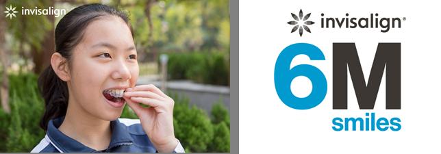 【プレスリリース】アライン・テクノロジー社、アジア太平洋地域の10代の患者を 「インビザライン ・システム」の600万人目の患者として迎え、 マイルストーンを達成しました