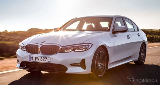 BMW 3シリーズ 新型にPHV、EVモードは66kmに…7月欧州発売へ
