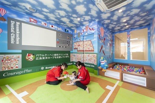 これが本気のカープ愛!? 院内に「マツダスタジアム」を作った広島の歯医者がすごい