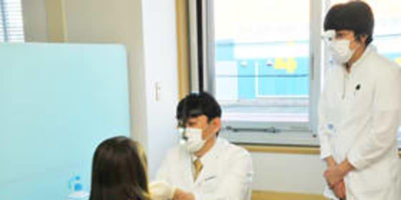 早期発見へ口腔検診