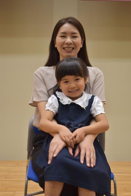 「親と子のよい歯のコンクール」最優秀賞に選ばれた 小倉昌子(おぐら・しょうこ)さん