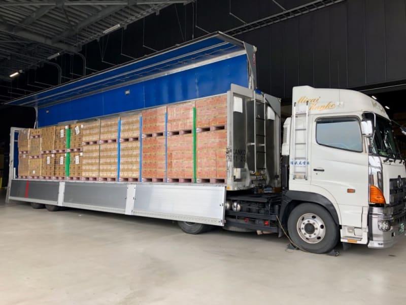 JRP、キユーピー、サンスターが3社共同輸送を開始 混載で高い積載重量、二酸化炭素排出量65%低減