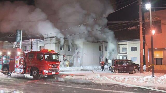 南幌町 歯科医院火災 水道管凍結で部屋あたため…