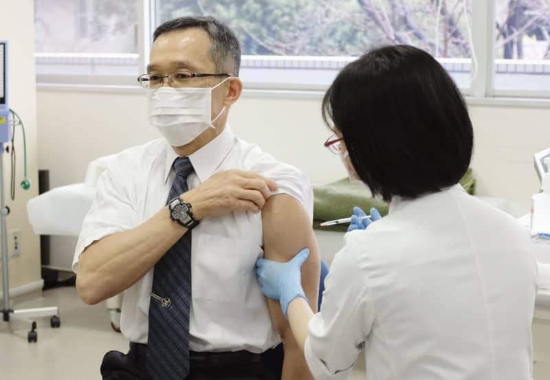 自衛隊でもワクチン優先接種開始 医師や看護師ら1万4千人対象