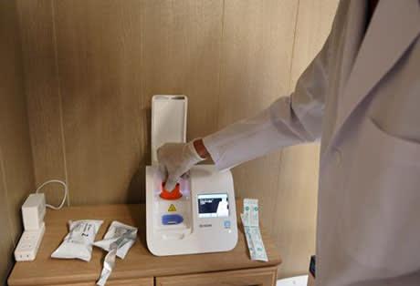 コロナ陽性、5分で判明 熊本県内初のNEAR法検査 和水町の歯科医院