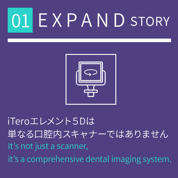 【iTero】EXPAND STORY① ~iTeroエレメント5Dは単なる口腔内スキャナーではありません~