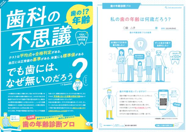 【プレスリリース】日本初!特許取得 1分で歯の年齢診断が分かる『歯の年齢診断プロ』を2021年6月1日にリリース