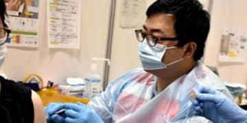 福島市のワクチン集団接種 スピードアップへ、歯科医師も打ち手に