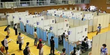 長崎大でワクチン職場接種開始 連日1200人規模 モデルナ製使用