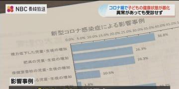 長崎県保険医協会「コロナ禍が児童生徒の健康状態に影響」調査結果発表