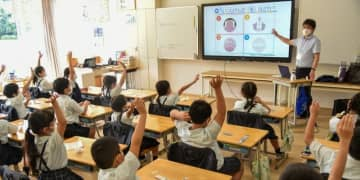 日本歯科医師会が都内小学校で歯科医師や歯科衛生士、歯科技工士の仕事の魅力を伝える出前授業を実施